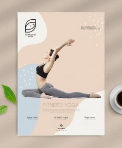 In tờ rơi yoga