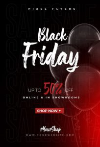 In poster black friday