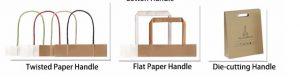 Quai dán túi giấy kraft