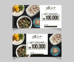 mẫu in voucher cho nhà hàng