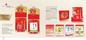 Mẫu lịch Bloc Bông Sen BS05
