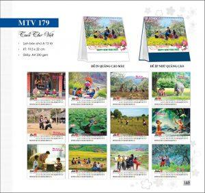 Lịch bàn MTV179